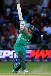 South Africa's Albie Morkel bats against Pakistan
