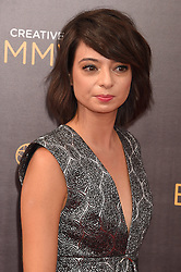 Kate Micucci bei der Ankunft zur Verleihung der Creative Arts Emmy Awards in Los Angeles / 110916 <br /> <br /> *** Arrivals at the Creative Arts Emmy Awards in Los Angeles, September 11, 2016 ***