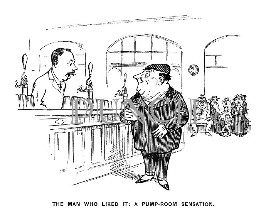 The Man Who Liked It: A Pump-Room Sensation.