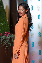 Laura Harrier attending the after party for the 72nd British Academy Film Awards, at the Grosvenor House Hotel in central London. Picture date: Sunday February 10th, 2019. Photo credit should read: Matt Crossick/ EMPICS Entertainment.