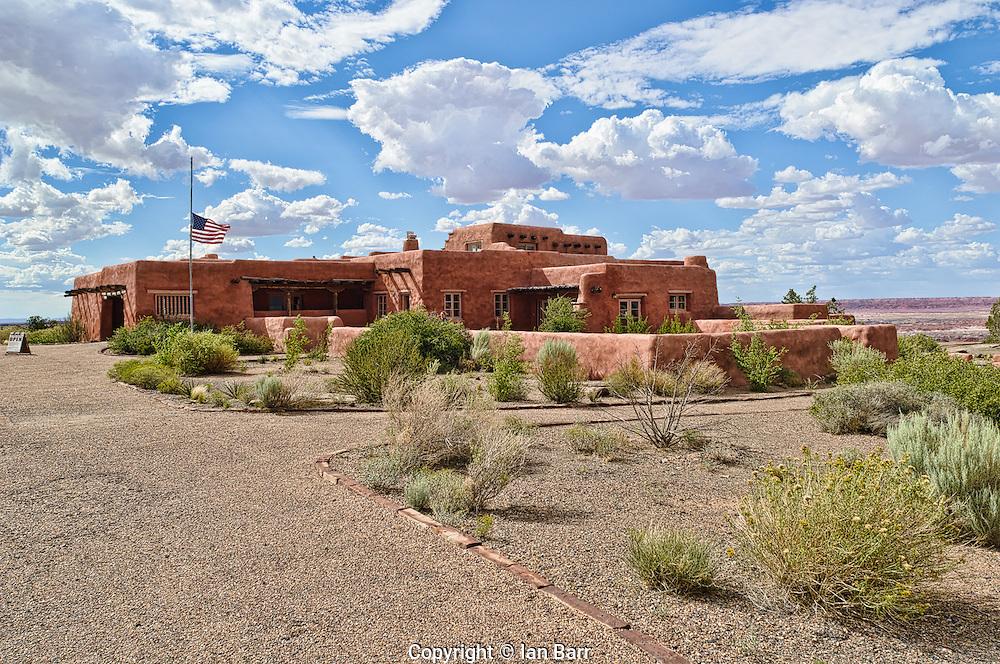 Painted Desert Inn.Petrified Forest National Park, Arizona.USA.