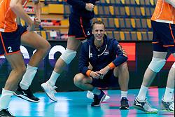 17-09-2019 NED: EC Volleyball 2019 Netherlands - Estonia, Amsterdam<br /> First round group D - Netherlands win 3-1 / Arne Hendriks