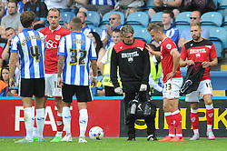 Joe Bryan of Bristol City picks up an injury - Mandatory byline: Dougie Allward/JMP - 07966386802 - 08/08/2015 - FOOTBALL - Hillsborough Stadium -Sheffield,England - Sheffield Wednesday v Bristol City - Sky Bet Championship