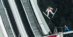 06.01.2016, Olympiaschanze, Garmisch Partenkirchen, GER, FIS Weltcup Ski Sprung, Vierschanzentournee, Bewerb, im Bild Peter Prevc (SLO) // Peter Prevc of Slovenia during his Competition Jump of Four Hills Tournament of FIS Ski Jumping World Cup at the Olympiaschanze, Garmisch Partenkirchen, Germany on 2016/01/01. EXPA Pictures © 2016, PhotoCredit: EXPA/ JFK