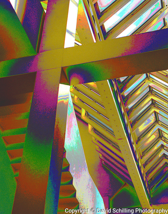 Color on crossbeam