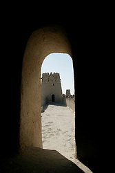 Al jahili fort tower in  Al ain, Abu Dhabi, UAE, October 20, 2007. Photo by Silvia Baron / i-Images.