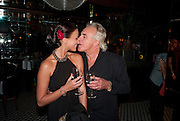 BELLA WRIGHT; PETER STRINGFELLOW; , launch of Fabulous Haircare Range, Frankie's Italian Bar and Grill, 3 Yeomans Row, off Brompton Road, London SW3, 7pm