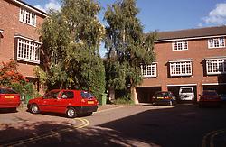 Modern housing estate,