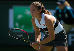 March 8, 2019 - Indian Wells, USA - Daria Kasatkina of Russia in action during her second-round match at the 2019 BNP Paribas Open WTA Premier Mandatory tennis tournament (Credit Image: © AFP7 via ZUMA Wire)
