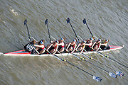 Chiswick, London, Great Britain.<br /> Sir W Borlases Grammer School BC. Champ Girls Eights competing at the 2016 Schools Head of the River Race, Reverse Championship Course Mortlake to Putney. River Thames.<br /> <br /> Thursday  17/03/2016<br /> <br /> [Mandatory Credit: Peter SPURRIER;Intersport images]