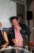 Michael Madson, Garrard 1st Anniversary party for their new shop, Albermarle St. 21 September 2003. © Copyright Photograph by Dafydd Jones 66 Stockwell Park Rd. London SW9 0DA Tel 020 7733 0108 www.dafjones.com