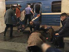 St Petersburg: Blast Kills in Metro - 3 April 2017
