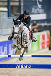 KRAUT Laura (USA), Confu<br /> - Stechen -<br /> Allianz-Preis<br /> CSI3* - Aachen Grand Prix, Springprüfung mit Stechen, 1.50m<br /> Grosse Tour<br /> Aachen - Jumping International 2020<br /> 06. September 2020<br /> © www.sportfotos-lafrentz.de/Stefan Lafrentz