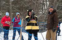 Gunstock Nordic Association's annual Paintball Biathlon Sunday, March 3, 2013.  Karen Bobotas/for the Laconia Daily Sun