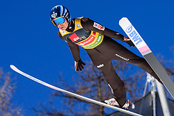 March 23, 2019 - Planica, Slovenia - Jakub Wolny of Poland in action during the team competition at Planica FIS Ski Jumping World Cup finals  on March 23, 2019 in Planica, Slovenia. (Credit Image: © Rok Rakun/Pacific Press via ZUMA Wire)