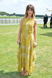 Kate Sumner at Cartier Queen's Cup Polo, Guard's Polo Club, Berkshire, England. 18 June 2017.<br /> Photo by Dominic O'Neill/SilverHub 0203 174 1069 sales@silverhubmedia.com