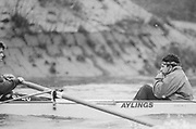 London, United Kingdom.  Oxford University Boat Club, Training Camp at St Paul's School, Hammersmith 2-12 Jan. 1990, Photography days 3 and 6th Jan. The squad training on the River Thames,[Tideway] Between the Pink House, Isleworth and Putney Hard,<br /> OUBC Cox N CHUGANI. <br /> [Mandatory Credit. Peter SPURRIER Intersport Images}.<br /> <br /> Blue Boat. W, M Gaffney J J Heathcote D G Miller R J Obholzer M C Pinsent J W C Searle T G Slocock M W Watts. 1991, W, P A J Bridge N Chugani H P M ..
