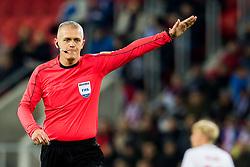 November 14, 2017 - Trnava, SLOVAKIA - 171114 Adam Farkas of Hungary, referee, during the international friendly match between Slovakia and Norway on November 14, 2017 in Trnava..Photo: Vegard Wivestad Grøtt / BILDBYRÃ…N / kod VG / 170058 (Credit Image: © Vegard Wivestad GrØTt/Bildbyran via ZUMA Wire)