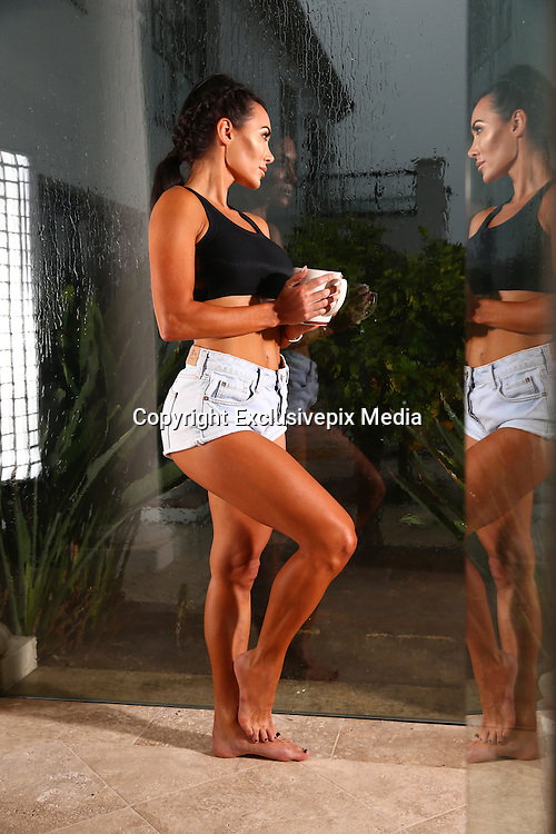 Life On Marbs star Danni Levy flaunts incredibly toned form in sizzling snaps... after revealing fears she will be 'single forever'<br /> ©Exclusivepix Media