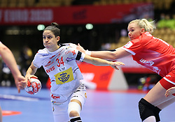 HERNING, DENMARK - DECEMBER 3, 2020: Alicia Fernandez of Spain during the EHF Euro 2018 Group C match between Russia and Spain in Jyske Bank Boxen, Herning, Denmark on December 3 2020. Photo Credit: Allan Jensen/EVENTMEDIA.