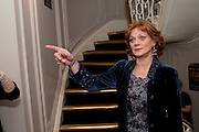 SAMANTHA BOND, First night for 'An Ideal Husband' by Oscar Wilde ÐThe play opened at The Vaudeville Theatre with a party after  Kettners, Soho. 10 November 2010. . -DO NOT ARCHIVE-© Copyright Photograph by Dafydd Jones. 248 Clapham Rd. London SW9 0PZ. Tel 0207 820 0771. www.dafjones.com.<br /> SAMANTHA BOND, First night for 'An Ideal Husband' by Oscar Wilde –The play opened at The Vaudeville Theatre with a party after  Kettners, Soho. 10 November 2010. . -DO NOT ARCHIVE-© Copyright Photograph by Dafydd Jones. 248 Clapham Rd. London SW9 0PZ. Tel 0207 820 0771. www.dafjones.com.