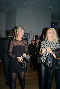 TAMARA BECKWITH; CLAIRE BECKWITH, TAG Heuer British Formula 1 Photographs - private view - <br />Mall Galleries, 17 Carlton House Terrace, London, SW1,  15 September 2008 *** Local Caption *** -DO NOT ARCHIVE-© Copyright Photograph by Dafydd Jones. 248 Clapham Rd. London SW9 0PZ. Tel 0207 820 0771. www.dafjones.com.