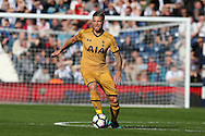 Toby Alderweireld of Tottenham Hotspur in action.Premier league match, West Bromwich Albion v Tottenham Hotspur at the Hawthorns stadium in West Bromwich, Midlands on Saturday 15th October 2016. pic by Andrew Orchard, Andrew Orchard sports photography.