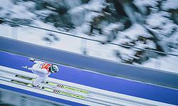 16.02.2020, Kulm, Bad Mitterndorf, AUT, FIS Ski Flug Weltcup, Kulm, Herren, im Bild Peter Prevc (SLO) // Peter Prevc of Slovenia during the men's FIS Ski Flying World Cup at the Kulm in Bad Mitterndorf, Austria on 2020/02/16. EXPA Pictures © 2020, PhotoCredit: EXPA/ Dominik Angerer