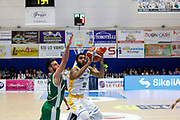 Knox Justin<br /> Betaland Capo d'Orlando - Sidigas Avellino <br /> Campionato Basket Lega A 2017-18 <br /> Capo d'Orlando 22/04/2018<br /> Foto Ciamillo-Castoria
