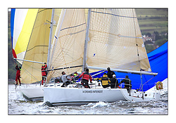 Savills Kip Regatta 2011, the opening regatta of the Scottish Yachting Circuit, held on the Clyde...A-Crewed Interest, GBR7058R, A35.