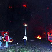 NLD/Amsterdam/19921004 - Vliegtuig El Al Boeing neergestort in de Bijlmermeer Amsterdam