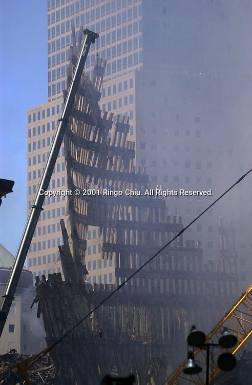 The World Trade Center after September 11, 2011. (Photo by Ringo Chiu/PHOTOFORMULA.com)