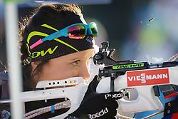 Anais Chevalier (FRA) during Women 7,5 km Sprint at day 2 of IBU Biathlon World Cup 2015/16 Pokljuka, on December 18, 2015 in Rudno polje, Pokljuka, Slovenia. Photo by Ziga Zupan / Sportida