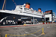 Hotel Queen Mary in the Long Beach Harbor