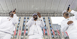May 25, 2019 - New York, New York, United States - Boyz II Men group performs on stage during Side by Side Celebration of Service concert at Rockefeller Center  (Credit Image: © Lev Radin/Pacific Press via ZUMA Wire)