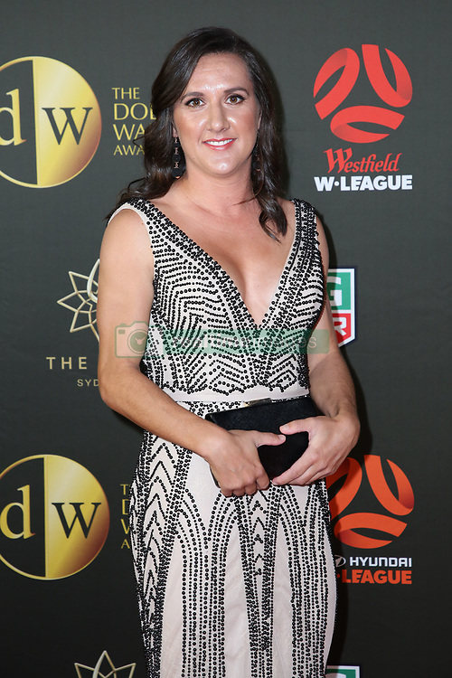 Players from the Westfield W-League and Hyundai A-League arrive on the red carpet for the 2018 Dolan Warren Awards at The Star Event Centre - 80 Pyrmont St, Pyrmont, NSW. 30 Apr 2018 Pictured: Lisa De Vanna. Photo credit: Richard Milnes / MEGA TheMegaAgency.com +1 888 505 6342
