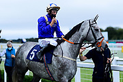 Song Of Summer ridden by Tom Marquand and trained by Tony Carroll ridden in the Home Of Winners At valuerater.co.uk Handicap - Mandatory by-line: Ryan Hiscott/JMP - 24/08/20 - HORSE RACING - Bath Racecourse - Bath, England - Bath Races