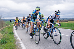Lotta Lepistö and Lauren Rauck Komanski - 2016 Strade Bianche - Elite Women, a 121km road race from Siena to Piazza del Campo on March 5, 2016 in Tuscany, Italy.