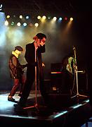 Ian Dury in concert 1981