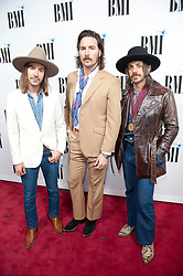 Nov. 13, 2018 - Nashville, Tennessee; USA - Musician MIDLAND attends the 66th Annual BMI Country Awards at BMI Building located in Nashville.   Copyright 2018 Jason Moore. (Credit Image: © Jason Moore/ZUMA Wire)