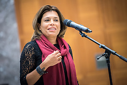 20 September 2017, Geneva, Switzerland: World Council of Churches staff gather for the annual Staff Enrichment Days. Here, Carla Khijoyan.