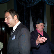 DAVID WALLIAMS; DUDLEY SUTTON, Party after the opening of  'Prick Up Your Ear's'  at the Comedy theatre. Cafe de Paris. Leicester Sq. London. 30 September 2009