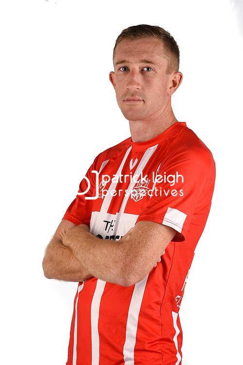 BRISBANE, AUSTRALIA - MAY 25: Alex Smith of Olympic poses for a photo during the Olympic FC Headshot session on May 25, 2018 in Brisbane, Australia. (Photo by Patrick Kearney)
