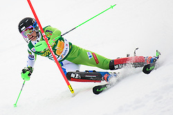 January 7, 2018 - Kranjska Gora, Gorenjska, Slovenia - Klara Livk of Slovenia competes on course during the Slalom race at the 54th Golden Fox FIS World Cup in Kranjska Gora, Slovenia on January 7, 2018. (Credit Image: © Rok Rakun/Pacific Press via ZUMA Wire)
