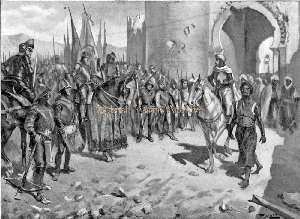 Capture of the Town of Coin in 1485. The town of Coin is situated in the Guadalhorce valley approximately 25 minutes from Marbella in Spain. The first settlement in Coin was created by the Turdetanos who were an Iberian tribe. During the Roman conquest the town was called Lacibis. In 713 the Arabs took control of the town and during the Moorish rule the town was restored to its former glory and names it Cohine. The Moors ruled for 500 years and the agricultural trade flourished during this time. Coin was re-captured by Fernando V in 1485 and under Spanish rule