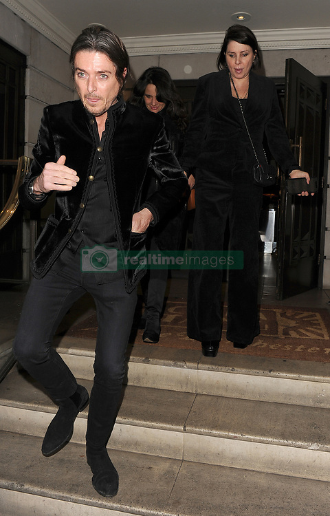 Kate Moss celebrates her 45th birthday, with a dinner at China Tang restaurant. On / off boyfriend Nikolai Von Bismarck was in attendance. 15 Jan 2019 Pictured: Sadie Frost, Darren Strowger. Photo credit: Will / MEGA TheMegaAgency.com +1 888 505 6342