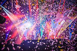 Chris Martin of Coldplay, headline the Saturday night, BBC Radio 1's Big Weekend Glasgow. Saturday at Glasgow Green, BBC Radio 1's Big Weekend Glasgow 2014.
