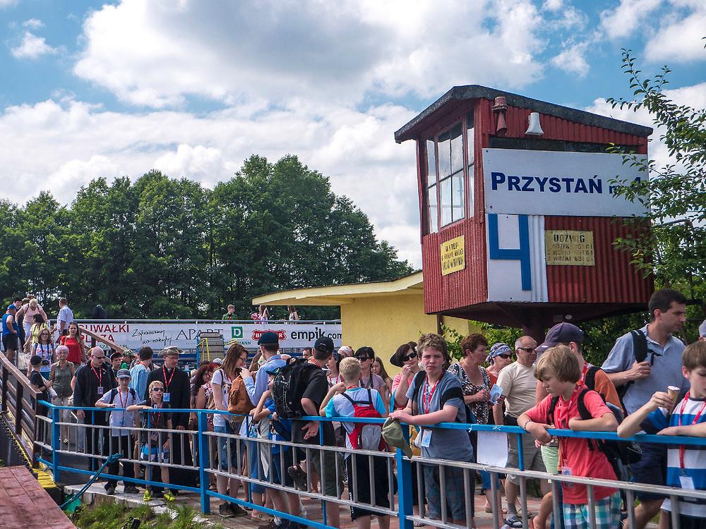 Przystań żeglugi augustowskiej, Augustów, Polska<br /> Marina Auguste shipping, Augustów, Poland