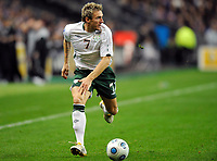 Fotball<br /> Frankrike v Irland<br /> Foto: DPPI/Digitalsport<br /> NORWAY ONLY<br /> <br /> FOOTBALL - FIFA WORLD CUP 2010 - PLAY OFF - 2ND LEG - FRANCE v REPUBLIC OF IRELAND - 18/11/2009<br /> <br /> LIAM LAWRENCE (IRE)