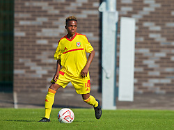 WREXHAM, WALES - Monday, July 22, 2019: Tanatswa Nyakuhwa of South during the Welsh Football Trust Cymru Cup 2019 at Colliers Park. (Pic by Paul Greenwood/Propaganda)
